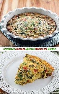 Starbucks Spinach And Mushroom Quiche Calories Recipes Tasty Query