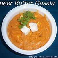 How to prepare paneer butter masala gravy in tamil