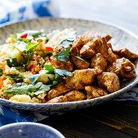 Woolworths Moroccan Chicken Couscous Salad Recipe Recipes Tasty Query